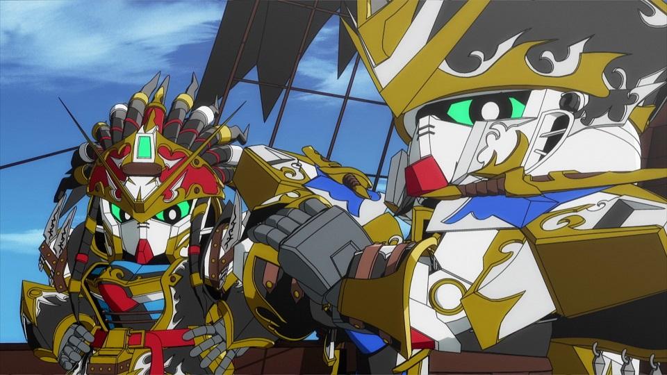 SD GUNDAM WORLD HEROES - Episode 3