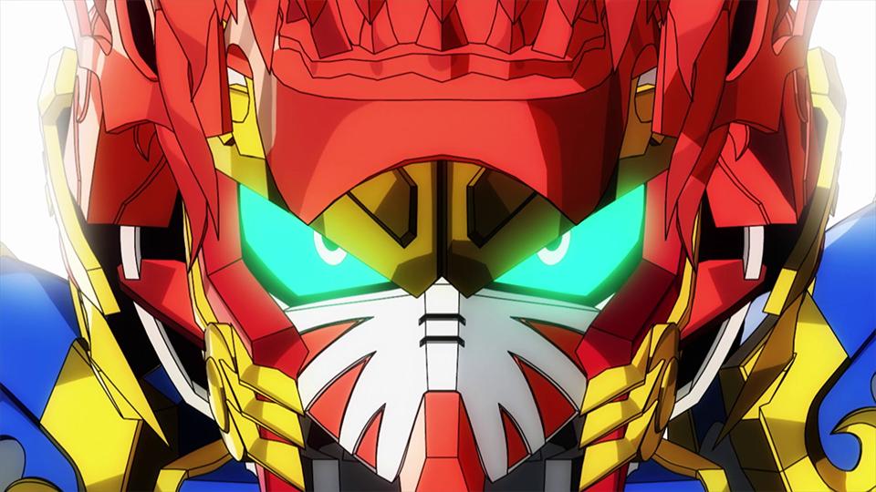 SD GUNDAM WORLD HEROES - Episode 12