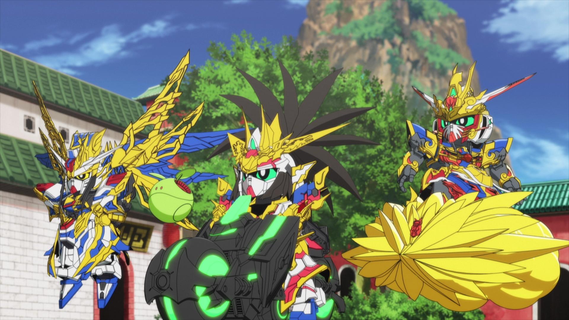 SD GUNDAM WORLD HEROES - Episode 2