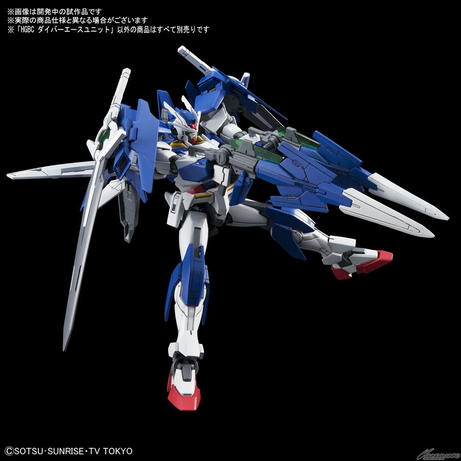 Hgac Leo Amp Hgbc Diver Ace Unit Ships Today Gundam Info