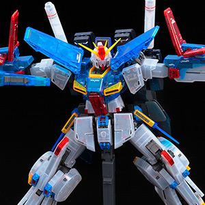 "Event Limited Gunpla ""MG ZZ Gundam Ver.KA [Clear Color ..."