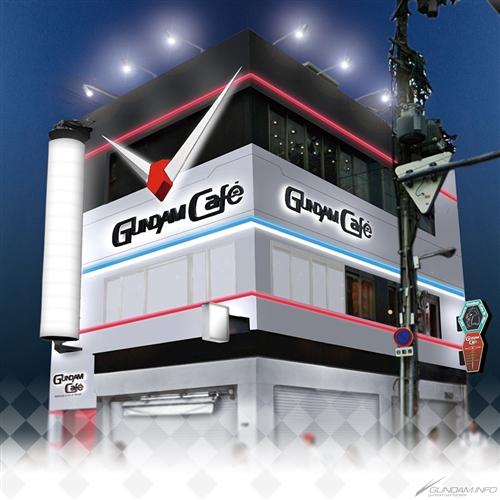 Official Gundam Cafe Opens in Osaka!