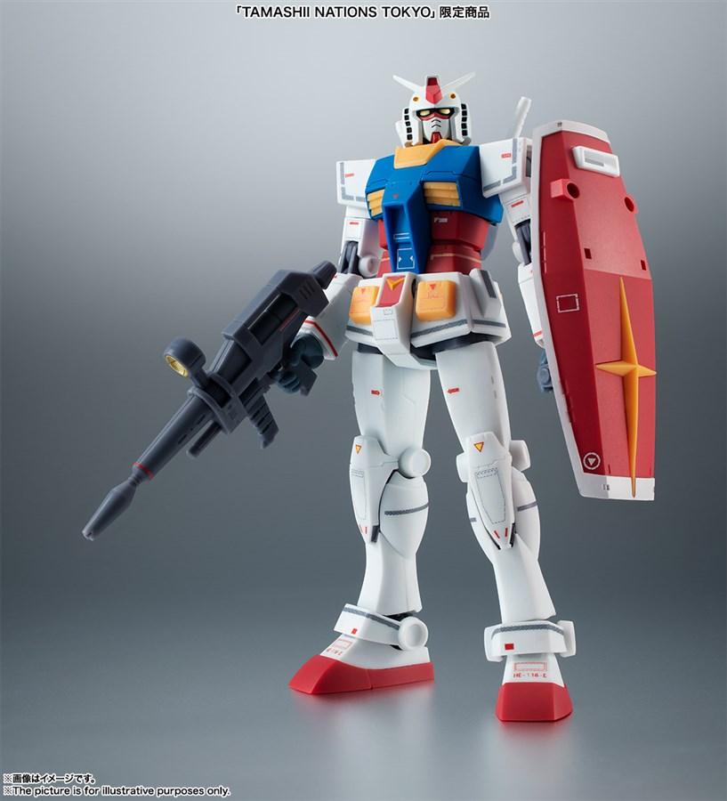 Neu Bandai Robot Spirits Seite Ms Master Gundam Actionfigur Tamashii Naitions Anime & Manga