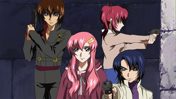 Mobile Suit Gundam Seed Destiny The Song Of Truth