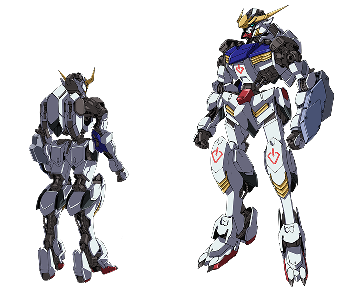 MOBILE SUIT GUNDAM IRON-BLOODED ORPHANS | GUNDAM BARBATOS (1st FORM)